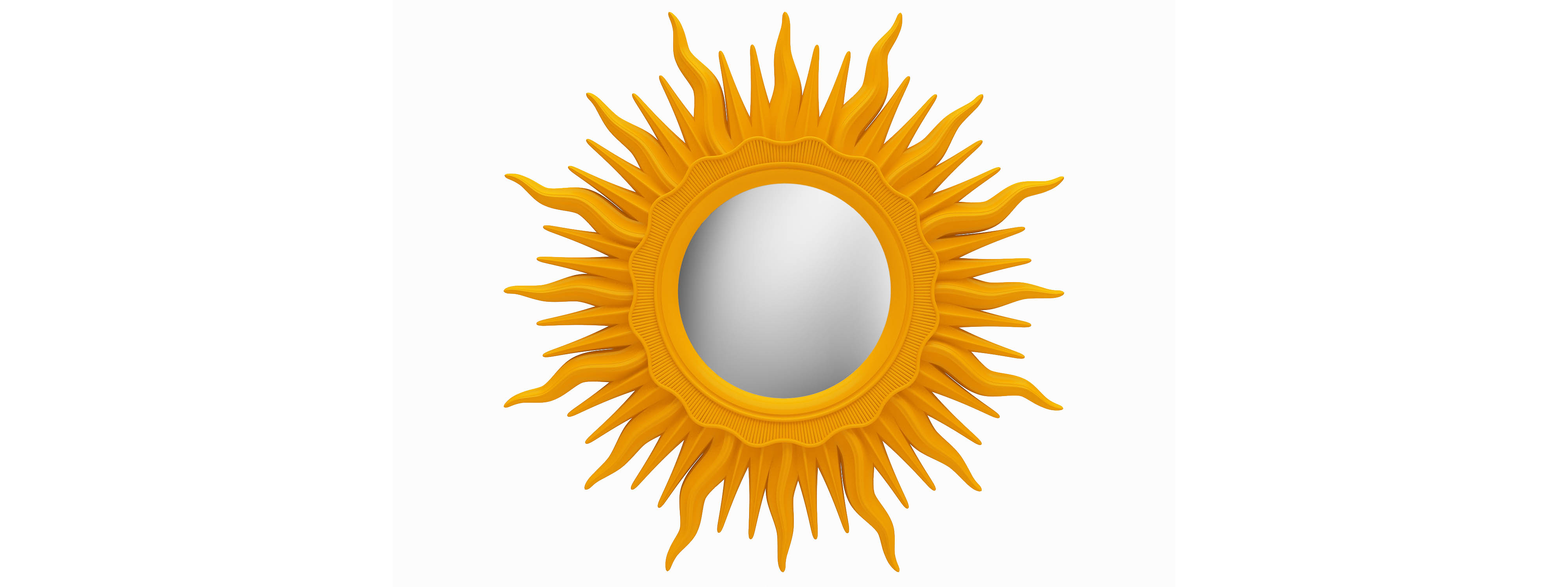Зеркало АСТРОНастенные зеркала<br>&amp;lt;div&amp;gt;Это зеркало-солнце — яркая и жизнерадостная вещица, которая всегда в центре внимания. Рама в форме лучей сделана из мебельного пенополиуретана, чрезвычайно крепкого и долговечного, и окрашена в апельсиново-оранжевый цвет. Материал и используемые красители не содержат токсичных веществ. ППУ не боится воды и пара, поэтому зеркало можно повесить в помещении с повышенной влажностью.&amp;lt;/div&amp;gt;&amp;amp;nbsp;&amp;lt;div&amp;gt;&amp;lt;span style=&amp;quot;line-height: 37.5374px;&amp;quot;&amp;gt;Цвет:&amp;amp;nbsp;Оранжевый&amp;lt;/span&amp;gt;&amp;lt;/div&amp;gt;<br><br>Material: Полиуретан<br>Width см: None<br>Depth см: 4<br>Diameter см: 96