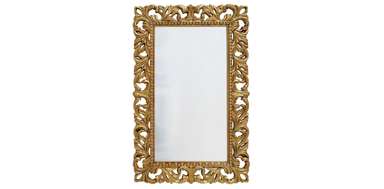 Винтажное Итальянское зеркалоНастенные зеркала<br>&amp;lt;div&amp;gt;Прямоугольное зеркало в резном обрамлении &amp;quot;под старину&amp;quot; — вещица эффектная, любому интерьеру придаст нотку &amp;quot;ностальжи&amp;quot;. Рама изготовлена из современного мебельного пенополиуретана. Этот материал отлично имитирует такие сложные поверхности, как древесина, покрытая винтажной позолотой. Но ППУ гораздо практичнее массива, да и ценник на изделие гораздо демократичнее. Материал не боится влаги, прочен и практически вечен. Он и используемые красители не содержат токсичных веществ и экологически безопасны.&amp;lt;/div&amp;gt;<br><br>Material: Полиуретан<br>Ширина см: 75<br>Высота см: 115<br>Глубина см: 4