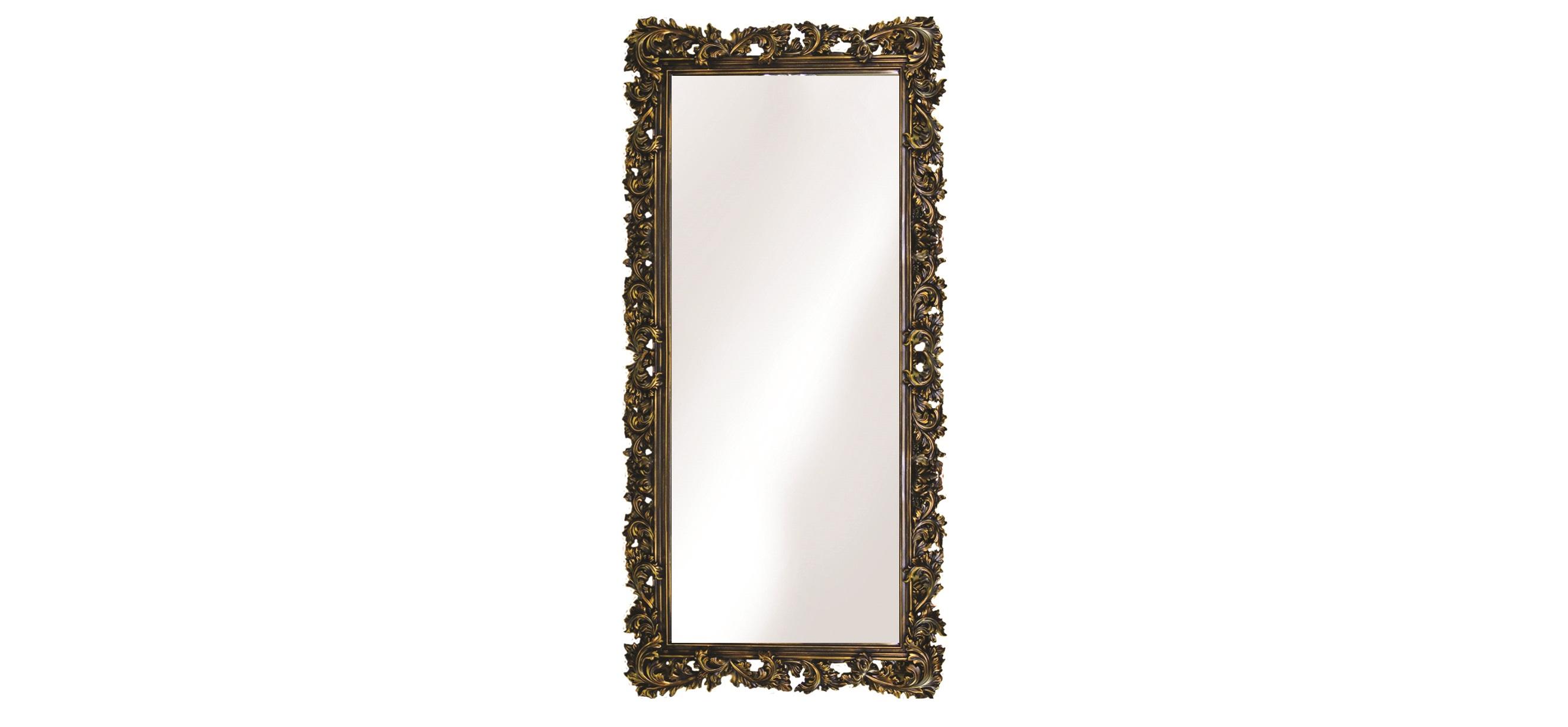 Большое зеркало в резном багетеНастенные зеркала<br>&amp;lt;div&amp;gt;Зеркало &amp;quot;во весь рост&amp;quot; — важный атрибут любого дома. А для интерьера в стиле неоклассика, французский шик или строгая Англия оно должно быть особенным. Резная рама — как подлинник искусства, со сложным окрашиванием и непременным винтажным эффектом. Багет изготовлен из современного пенополиуретана, очень прочного композита, имитирующего и древесину, и кованный металл. Используемые краски, воски и другие материалы экологически безопасны и не содержат токсичных примесей, не боятся влаги.&amp;lt;/div&amp;gt;&amp;lt;div&amp;gt;&amp;lt;br&amp;gt;&amp;lt;/div&amp;gt;&amp;lt;div&amp;gt;&amp;lt;div&amp;gt;Цвет:&amp;amp;nbsp;Венге Золото&amp;lt;/div&amp;gt;&amp;lt;/div&amp;gt;<br><br>Material: Полиуретан<br>Ширина см: 88<br>Высота см: 180<br>Глубина см: 4