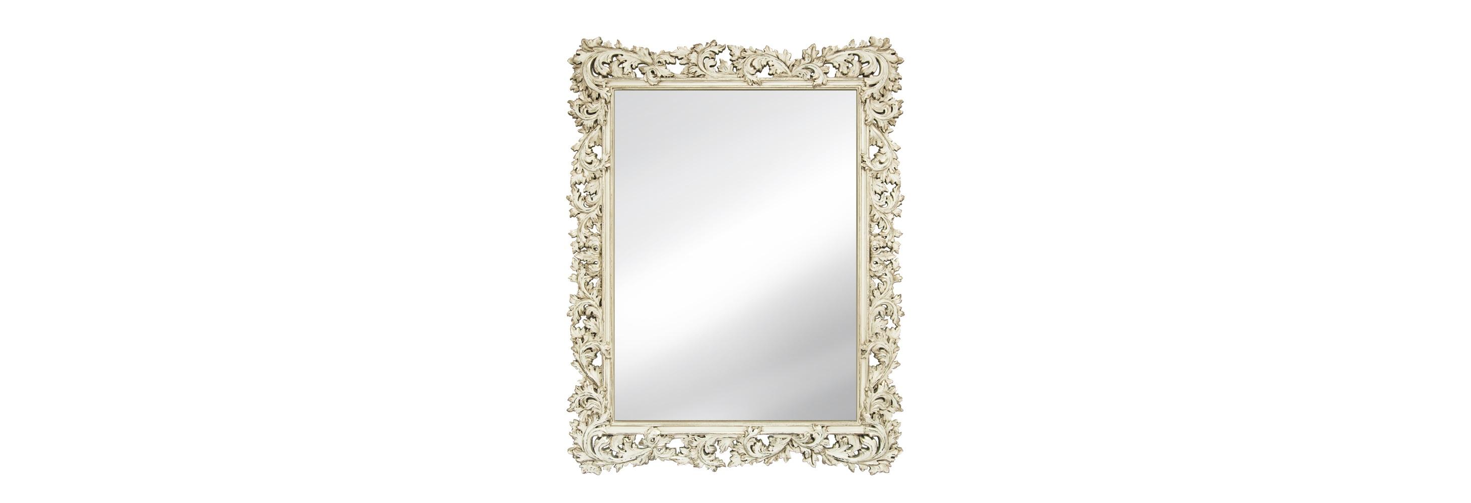 Стильное зеркало в раме ПровансНастенные зеркала<br>&amp;lt;div&amp;gt;Интерьеру в романтичном стиле Прованс или ультрамодном шебби-шик просто никуда без винтажного зеркала. Рама для этого, например, сделана по всем канонам: имитация роскошной древесины и сусального золота, дыхание старины плюс легкая небрежность. Очень нежно, очень мило. Для изготовления багета использован мебельный пенополиуретан, достаточно практичный материал, который не боится влаги и очень крепок. Можно сказать, практически вечен.&amp;lt;/div&amp;gt;&amp;lt;div&amp;gt;&amp;lt;br&amp;gt;&amp;lt;/div&amp;gt;&amp;lt;div&amp;gt;Цвет:&amp;amp;nbsp;Слоновая кость Шебби-шик Патина Золото&amp;lt;/div&amp;gt;<br><br>Material: Полиуретан<br>Length см: None<br>Width см: 88<br>Depth см: 4<br>Height см: 115