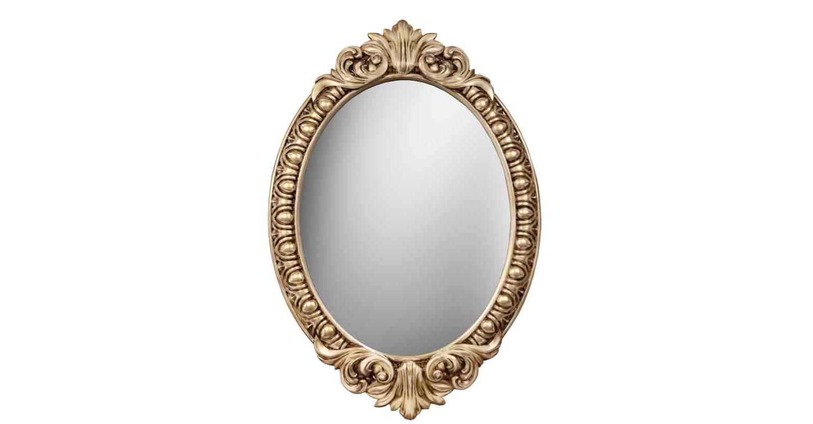 Зеркало ВЕНЕЦИЯНастенные зеркала<br>&amp;lt;div&amp;gt;Это зеркало в резной овальной раме выполнено в роскошном стиле итальянского барокко. Как и изделия именитых древних мастеров, эти оправы изготовлены и окрашены вручную, но с использованием современных материалов и красителей. Мебельный полиуретан — идеальный материал для таких сложных задумок. Он легко имитирует фактуру натуральной древесины или кованного металла, очень прочный и долговечный. Кроме того, он влагостойкий и экологически безопасен.&amp;lt;/div&amp;gt;&amp;lt;div&amp;gt;&amp;lt;br&amp;gt;&amp;lt;/div&amp;gt;&amp;lt;div&amp;gt;Цвет:&amp;amp;nbsp;Слоновая кость Золото Патина&amp;lt;/div&amp;gt;<br><br>Material: Полиуретан<br>Length см: None<br>Width см: 72<br>Depth см: 4<br>Height см: 104