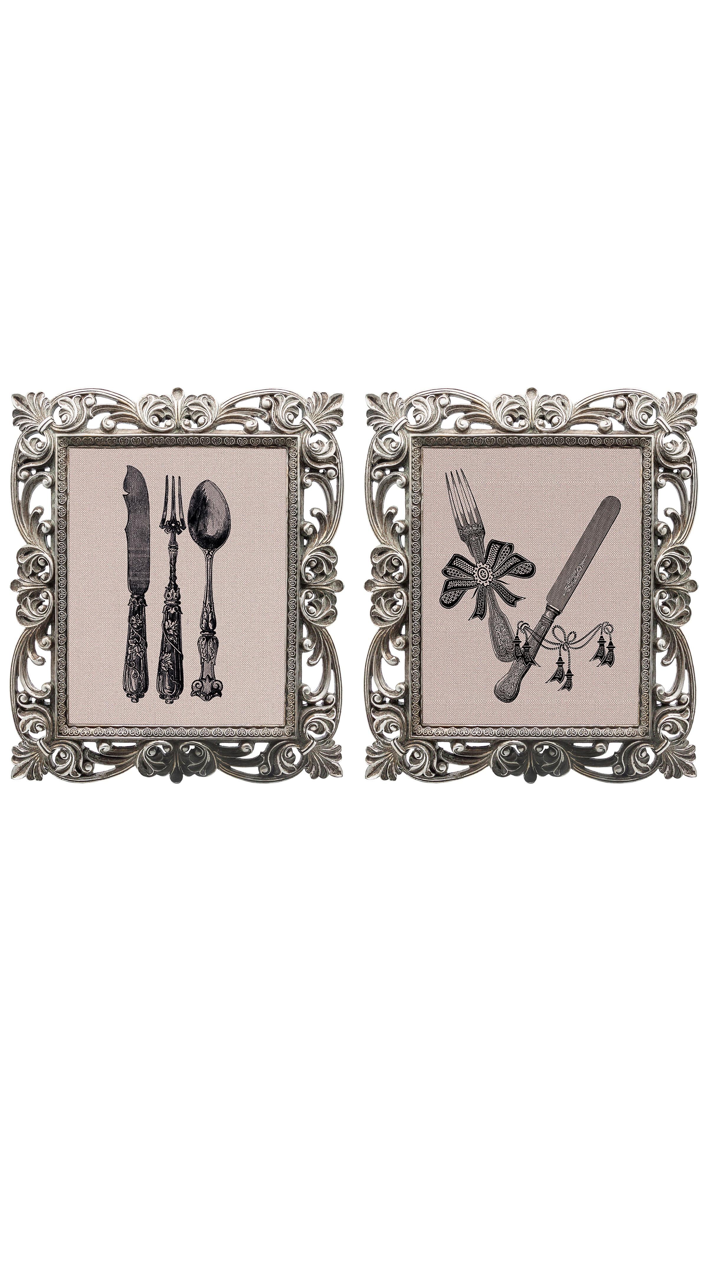Набор из двух репродукций старинных картин в раме Беатрис. Фамильное сереброКартины<br>&amp;lt;div&amp;gt;Набор винтажных изображений «Фамильное серебро» — это не только сентиментальное воспоминание о предметах и целых эпохах прошлого, — это еще и оригинальная деталь интерьера, которая поражает множеством элементов и эффектно смотрится в любом пространстве. Декорируйте свой дом с любовью, превращая обычный день в волшебный! Искусная техника состаривания придает рамам особую теплоту и винтажность. Благородная патина на поверхности рам — интригующее приглашение к прогулке в мир старинных реликвий! Картины можно повесить на стену, а можно поставить, например, на стол или камин. Если Вам захочется обновить интерьер, Вы можете с легкостью заменить изображение картин!&amp;lt;/div&amp;gt;&amp;lt;div&amp;gt;&amp;lt;br&amp;gt;&amp;lt;/div&amp;gt;&amp;lt;div&amp;gt;Изображение - дизайнерская бумага; рама - искуственный камень; защитный слой - стекло&amp;amp;nbsp;&amp;lt;/div&amp;gt;&amp;lt;div&amp;gt;&amp;lt;br&amp;gt;&amp;lt;/div&amp;gt;<br><br>Material: Бумага<br>Width см: 30<br>Depth см: 2,3<br>Height см: 35