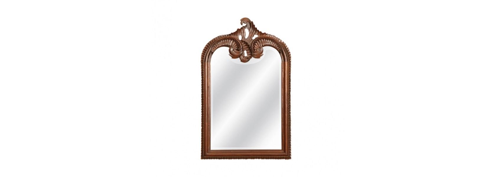 ЗеркалоНастенные зеркала<br>&amp;lt;div&amp;gt;Это элегантное зеркало выполнено в традиционном английском стиле. Оригинальная рама из массива красного дерева идеально подчеркивает аристократичность и сдержанность интерьеров эпохи королевы Виктории. Утонченный силуэт модели &amp;amp;nbsp;декорирован необычным узором. Миниатюрные завитки, переплетенные между собой, придают образу шарм и изысканность. Предмет станет ярким акцентом в уютной спальне или прихожей.&amp;lt;br&amp;gt;&amp;lt;/div&amp;gt;&amp;lt;div&amp;gt;&amp;lt;br&amp;gt;&amp;lt;/div&amp;gt;Выполнено из массива красного дерева. Ручная работа.<br><br>Material: Красное дерево<br>Ширина см: 49<br>Высота см: 130<br>Глубина см: 5