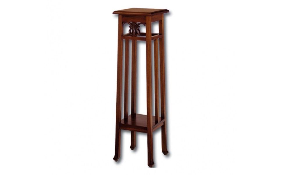 ПодставкаПриставные столики<br>&amp;lt;div&amp;gt;Когда не хочется перегружать пространство обилием мебели, стоит обратить внимание на подставки. Это универсальный предмет для декора и хранения. Подставка в английском стиле — хорошая альтернатива габаритному стеллажу или миниатюрной консоли. А за счет натурального дерева и резной отделки она может выполнить роль самостоятельного элемента декора.&amp;lt;br&amp;gt;&amp;lt;/div&amp;gt;&amp;lt;div&amp;gt;&amp;lt;br&amp;gt;&amp;lt;/div&amp;gt;Выполнено из массива красного дерева. Ручная работа.<br><br>Material: Красное дерево<br>Ширина см: 30<br>Высота см: 110<br>Глубина см: 30