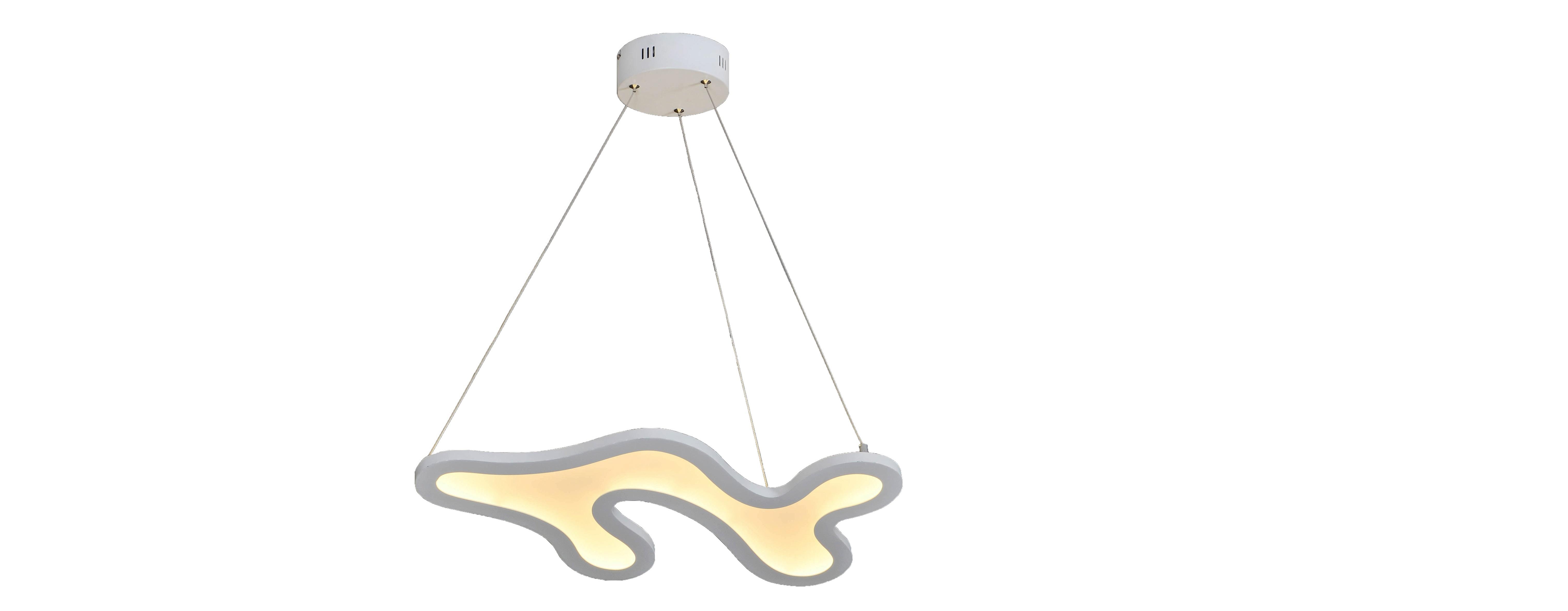 Подвесной светильник ЗодиакПодвесные светильники<br>&amp;lt;div&amp;gt;Загадочный подвесной светильник &amp;quot;Зодиак&amp;quot; окутает пространство неуловимой дымкой света, создав рассеянное освещение. Затейливая форма выдает его таинственное происхождение. Белая рама стремительно движется в неизвестном направлении, замыкаясь в извилистую фигуру. Такой светильник не оставит равнодушными любителей эклектичных пространств.&amp;lt;/div&amp;gt;&amp;lt;div&amp;gt;&amp;lt;br&amp;gt;&amp;lt;/div&amp;gt;&amp;lt;div&amp;gt;Тип ламп: LED&amp;lt;/div&amp;gt;&amp;lt;div&amp;gt;Количество ламп/тип ламп:LED 31,5W&amp;lt;/div&amp;gt;&amp;lt;div&amp;gt;&amp;lt;br&amp;gt;&amp;lt;/div&amp;gt;<br><br>Material: Металл<br>Length см: 60<br>Width см: 30<br>Height см: 120