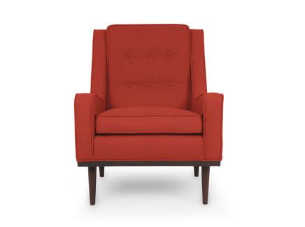 Кресло боумэн (vysotkahome) красный 69x91x91 см.