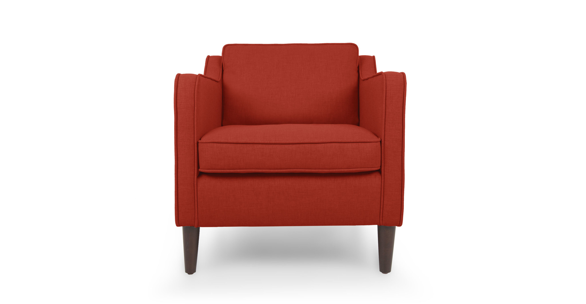Кресло Грейс REDИнтерьерные кресла<br>&amp;lt;div&amp;gt;Кресло в скандинавском стиле с легкой ноткой ретро ? это практично и очень модно. Сглаженные линии, ни грамма вычурности, натуральные экологичные материалы ? вот суть этой мебели. Обивка и чехол съемной подушки-сиденья сшиты из прочной ткани оттенка грейпфрута. Ножки изготовлены из древесного массива и имеют правильную коническую форму.&amp;lt;/div&amp;gt;<br><br>Material: Текстиль<br>Width см: 75<br>Depth см: 89<br>Height см: 81