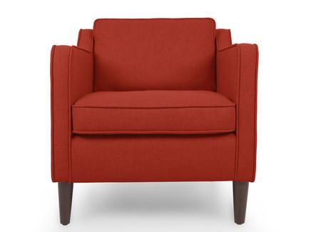 Кресло грейс red (vysotkahome) красный 75x81x89 см.