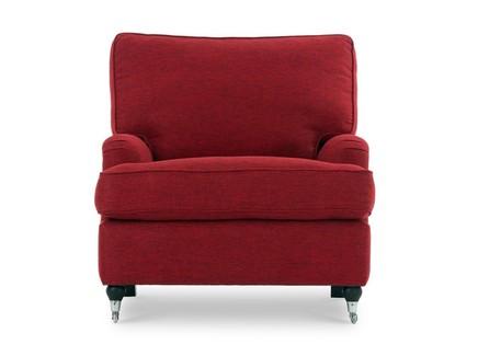 Кресло нэшвилл (vysotkahome) красный 85x84x95 см.