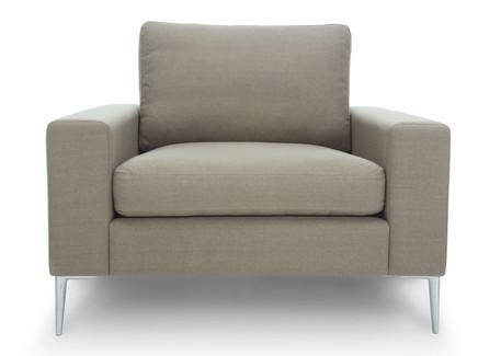 Кресло мэдисон gray (vysotkahome) серый 99x81x88 см.