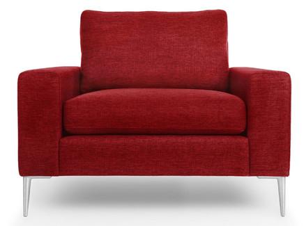 Кресло мэдисон red (vysotkahome) красный 99x81x88 см.