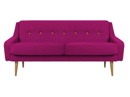 Трехместный диван одри m (vysotkahome) розовый 185x85x85 см.