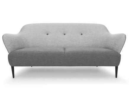 Трехместный диван берлин m gray (vysotkahome) серый 188x81x94 см.