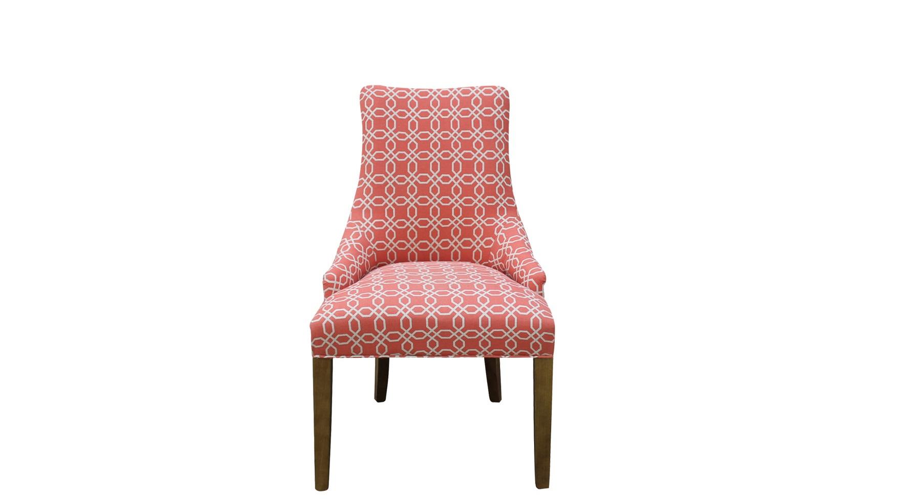 Полукресло Martin ll arm chairПолукресла<br>С креслом &amp;quot;Martin ll Arm Chair&amp;quot; вы сможете преобразить современный скандинавский дизайн, который обычно строится на нейтральных оттенках. Сдержанный силуэт превосходно впишется в аскетичное оформление, не нарушая его строгих пропорций. Подарить оригинальность последним сможет обивка, выполненная в эффектном красном цвете. Интересный принт, созданный единением белых окружностей, добавит шарм абстракции к выверенной и четкой геометрии современного пространства.<br><br>Material: Текстиль<br>Width см: 61<br>Depth см: 78<br>Height см: 98