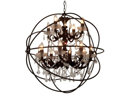 "Люстра ""Iron II Orb Chandelier"""