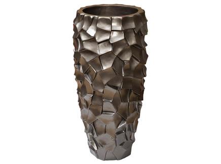 Кашпо (garda decor) бронзовый 32x69x32 см.