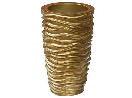 Кашпо gold (garda decor) золотой 29x47x29 см.