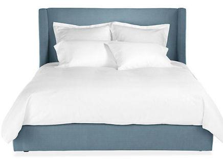 Кровать north end (ml) синий 183.0x120.0x212.0 см.