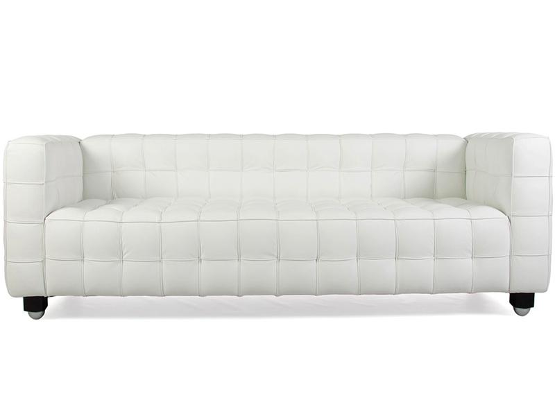 Диван трехместный KubusКожаные диваны<br>Этот вместительный диван, на котором с комфортом разместятся 3 и более человек, не выглядит громоздким. Резкость прямых линий и строгих геометрических форм растворяется в роскошной отделка. Белая кожа делает творение австрийского дизайнера Йозефа Хоффмана более нежным и изысканным. Лаконичные пропорции при этом не лишаются аскетизма, идеально подходящего для дополнения функциональных и минималистичных гостиных или лаунжей.&amp;lt;div&amp;gt;&amp;lt;br&amp;gt;&amp;lt;/div&amp;gt;&amp;lt;div&amp;gt;Варианты отделки:&amp;lt;/div&amp;gt;&amp;lt;div&amp;gt;&amp;lt;ul&amp;gt;&amp;lt;li&amp;gt;&amp;lt;span style=&amp;quot;line-height: 1.78571;&amp;quot;&amp;gt;Итальянская кожа высшей категории. Сиденье, внутренняя часть спинки и подлокотников выполнены из натуральной кожи. Задняя часть спинки и внешние боковые части – из износостойкой эко-кожи.&amp;lt;/span&amp;gt;&amp;lt;br&amp;gt;&amp;lt;/li&amp;gt;&amp;lt;li&amp;gt;&amp;lt;span style=&amp;quot;line-height: 1.78571;&amp;quot;&amp;gt;Текстиль европейского качества: выбор из 28 оттенков.&amp;lt;/span&amp;gt;&amp;lt;br&amp;gt;&amp;lt;/li&amp;gt;&amp;lt;/ul&amp;gt;&amp;lt;/div&amp;gt;&amp;lt;div&amp;gt;Срок изготовления: 20-25 рабочих дней после оплаты заказа.&amp;lt;/div&amp;gt;<br><br>Material: Кожа<br>Width см: 195<br>Depth см: 80<br>Height см: 75