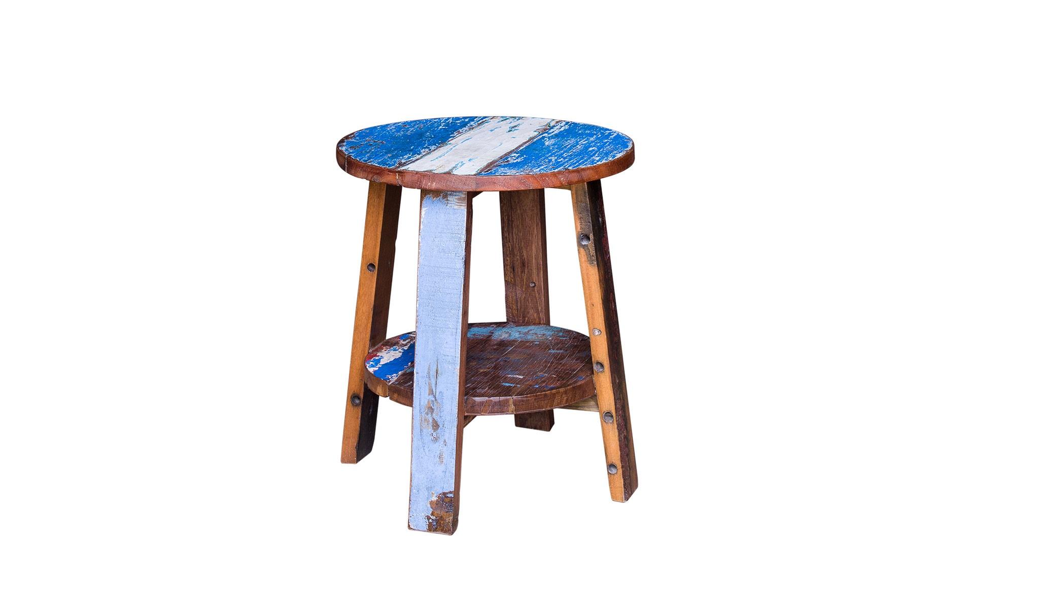 Табурет ГандиТабуреты<br>&amp;lt;div&amp;gt;Очень простой по форме табурет из дерева впечатляет яркой отделкой. По его &amp;amp;nbsp;корпусу растеклись разные краски, оставляя хаотичные подтеки. Табурет позволит импровизировать с пространством: он может стать столиком, консолью или тумбой. &amp;quot;Ганди&amp;quot; — это предмет, открытый к смелым экспериментам в интерьере.&amp;lt;/div&amp;gt;&amp;lt;div&amp;gt;&amp;lt;br&amp;gt;&amp;lt;/div&amp;gt;Табурет выполнен из массива древесины старого рыбацкого судна, такой как: тик, махогон, суар, с сохранением оригинальной многослойной окраски. Сборка не требуется.<br>Страна производитель - Индонезия.<br><br>Material: Тик<br>Ширина см: 45.0<br>Высота см: 55.0<br>Глубина см: 45.0