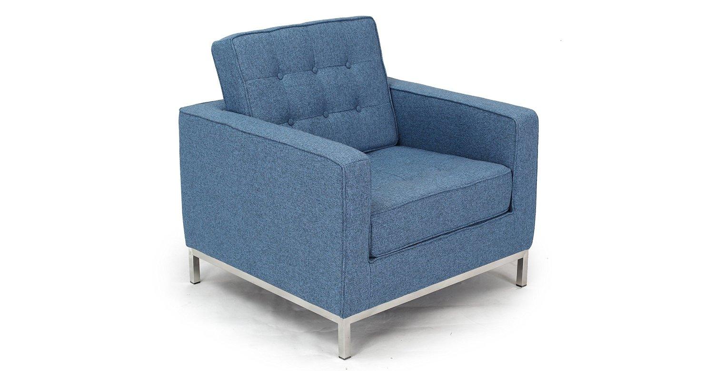 Кресло KnollИнтерьерные кресла<br>Это кресло разработано Флоренс Нолл более полувека назад, в 1954 году. Несмотря на давность творения, оно выглядит современно и является подходящим для любых модных сегодня интерьеров. Не выходить из моды ему позволяют пропорции, сочетающиеся друг с другом в строгой симметрии. Оригинальность нарочито простому силуэту дарят детали вроде мебельной стяжки и металлических ножек. Отделка тканью голубого цвета позволяет минималистичному образу выглядеть ярко и притягивать внимание.&amp;lt;div&amp;gt;&amp;lt;br&amp;gt;&amp;lt;/div&amp;gt;&amp;lt;div&amp;gt;Для изготовления кресла Knoll &amp;amp;nbsp;используется высококачественная, износостойкая ткань коллекций Paris и Furor. Вы можете выбрать из 28 благородных оттенков.<br>Ткань характеризуется высокой прочностью, устойчивостью к химическому и световому воздействиям, не линяет, не скатывается и не впитывает жидкость.&amp;lt;/div&amp;gt;&amp;lt;div&amp;gt;Срок изготовления: 20-25 рабочих дней после оплаты заказа.&amp;amp;nbsp;&amp;lt;/div&amp;gt;<br><br>Material: Текстиль<br>Width см: 83<br>Depth см: 80<br>Height см: 80