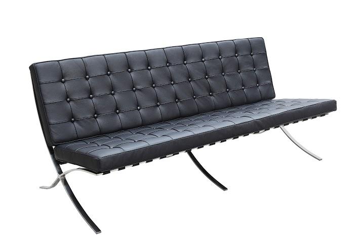 Диван трехместный BarcelonaКожаные диваны<br>&amp;quot;Barcelona&amp;quot; ? вместительный и комфортабельный диван, который выглядит аккуратным за счет минималистичного оформления. Созданный в 1929 году, он вдохновлен пропорциями курульного кресла, считавшегося символом власти у древнеримской знати. Архитектор Людвиг Мис ван дер Роэ, пытаясь развить идею совершенной формы, смог подарить своему творению очертания, которые выглядят актуальными до сих пор. В отделке качественной эко-кожей черного цвета они обретают больше завораживающей &amp;amp;nbsp;притягательности, заключенной в идеальной геометрии квадрата.&amp;lt;div&amp;gt;&amp;lt;br&amp;gt;&amp;lt;/div&amp;gt;&amp;lt;div&amp;gt;Варианты отделки:&amp;lt;/div&amp;gt;&amp;lt;div&amp;gt;&amp;lt;ul&amp;gt;&amp;lt;li&amp;gt;&amp;lt;span style=&amp;quot;line-height: 1.78571;&amp;quot;&amp;gt;Эко-кожа. Вы можете выбрать один из 11 благородных оттенков.&amp;lt;/span&amp;gt;&amp;lt;br&amp;gt;&amp;lt;/li&amp;gt;&amp;lt;li&amp;gt;&amp;lt;span style=&amp;quot;line-height: 1.78571;&amp;quot;&amp;gt;Текстиль коллекций Paris и Furor. Износостойкая ткань насыщенных оттенков.&amp;lt;/span&amp;gt;&amp;lt;br&amp;gt;&amp;lt;/li&amp;gt;&amp;lt;/ul&amp;gt;&amp;lt;/div&amp;gt;&amp;lt;div&amp;gt;&amp;lt;span style=&amp;quot;line-height: 1.78571;&amp;quot;&amp;gt;Ножки комплектуются прозрачными пластиковыми наконечниками, которые защищают твердые напольные покрытия от повреждений.&amp;lt;/span&amp;gt;&amp;lt;/div&amp;gt;&amp;lt;div&amp;gt;&amp;lt;span style=&amp;quot;line-height: 1.78571;&amp;quot;&amp;gt;Срок изготовления: 20-25 рабочих дней после оплаты заказа.&amp;lt;/span&amp;gt;&amp;lt;/div&amp;gt;<br><br>Material: Кожа<br>Length см: 182<br>Width см: 76<br>Depth см: 47<br>Height см: 82