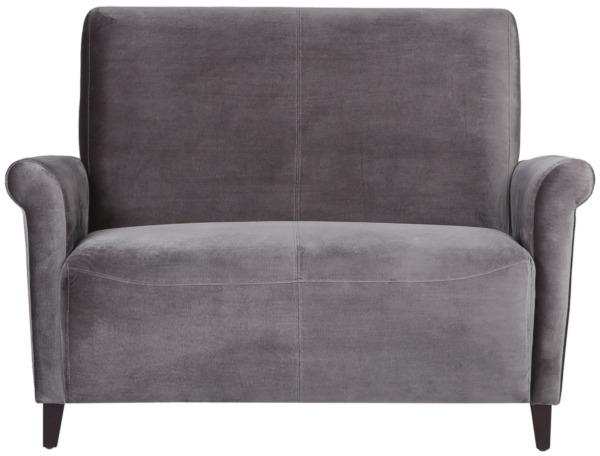 Диван Baker StreetДвухместные диваны<br>Поклонники английской классики оценят этот лаконичный, немного консервативный диван. Его образ с первого взгляда может показаться излишне суровым. Но его нрав легко смягчить уютным текстилем: традиционным клетчатым пледом или небольшой подушкой. &amp;amp;nbsp;&amp;quot;Baker Street&amp;quot; отлично подходит для интерьеров в спокойных и ненавязчивых тонах.<br><br>Material: Текстиль<br>Length см: None<br>Width см: 123<br>Depth см: 81<br>Height см: 89