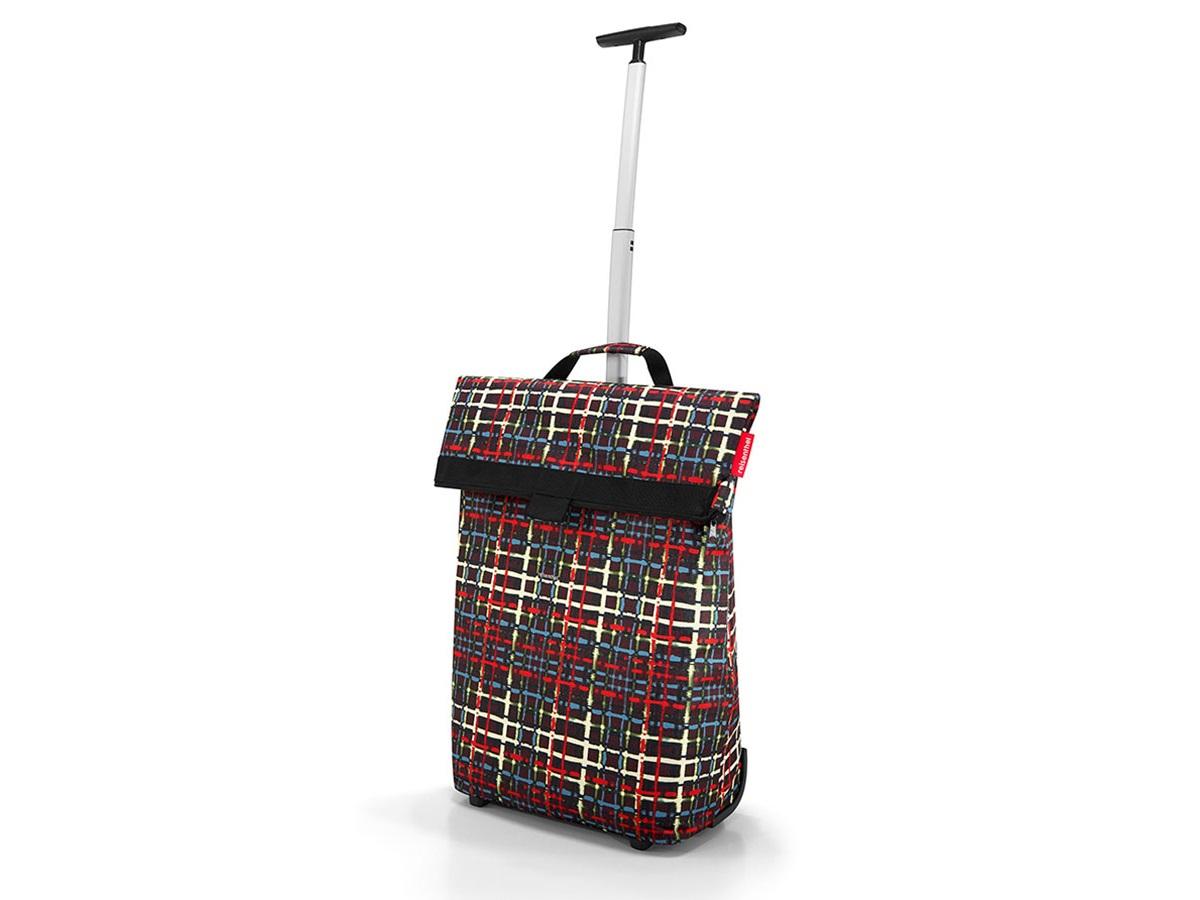 Сумка-тележка trolley m woolСумки<br>Необычная сумка, которая при желании увеличивается и становится сумкой-тележкой. Удобна для походов в магазин, поездок и переноски большого количества вещей.<br>Телескопическая ручка с двумя степенями сложения легко прячется в специальный карман на молнии. В дополнение к этому сзади есть карман на молнии для мелочей. Большое внутреннее отделение с объмом 43 литра. Выдерживает до 10 кг.<br><br>Material: Текстиль<br>Width см: 43<br>Depth см: 21<br>Height см: 53