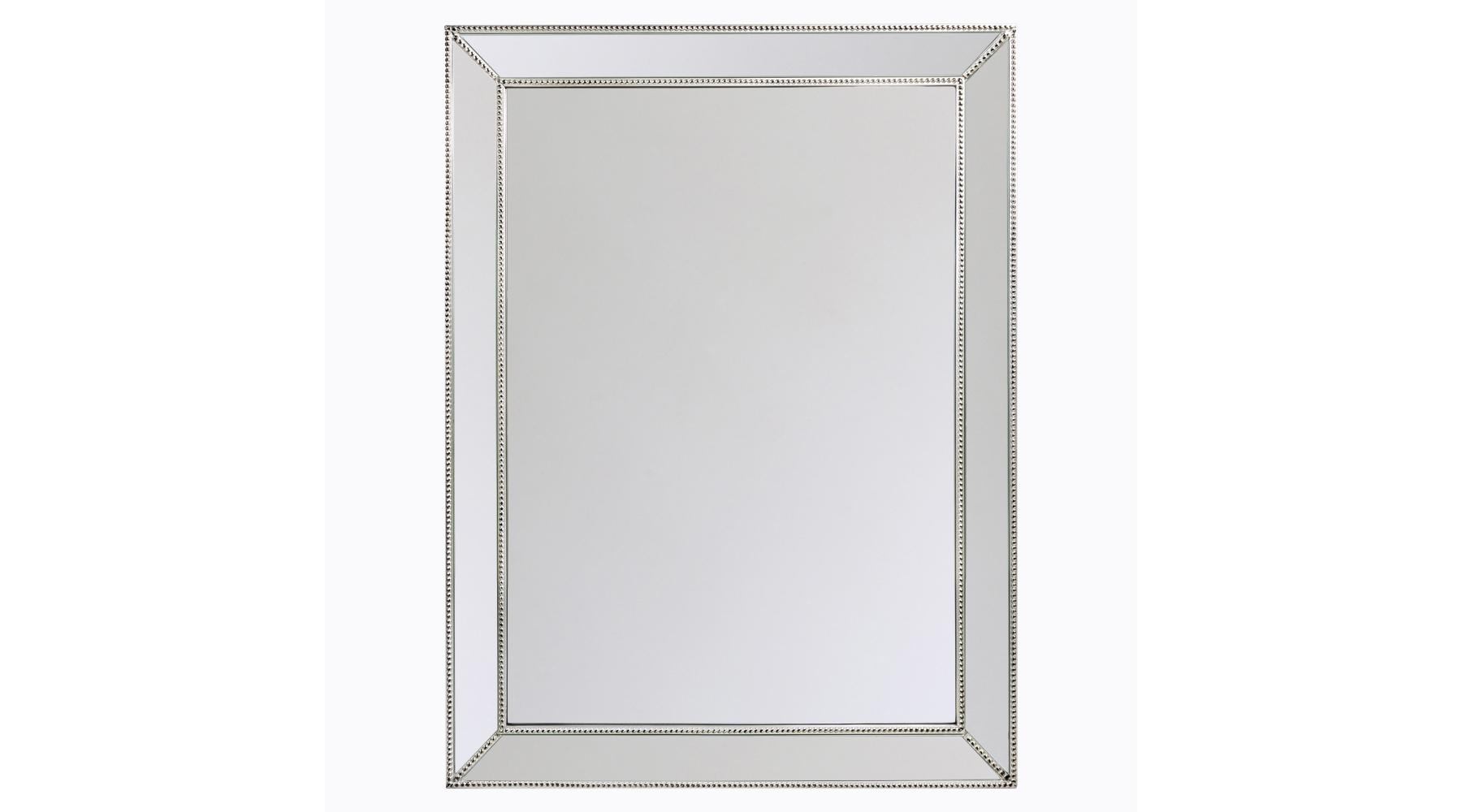 Настенное зеркало «Готье»Настенные зеркала<br>Это зеркало не так просто, как кажется! Рама из натуральной древесины покрыта серебряной амальгамой и декорирована по краям фацетом. Такие &amp;quot;зеркальные&amp;quot; обрамления были на пике популярности еще в средневековой Венеции! Толщина зеркальной поверхности составляет 5 мм, она абсолютно точно отражает объекты и предметы, не искажая их формы. Вес зеркала составляет 16,2 кг.<br><br>Material: Дерево<br>Width см: 90<br>Depth см: 4,5<br>Height см: 120
