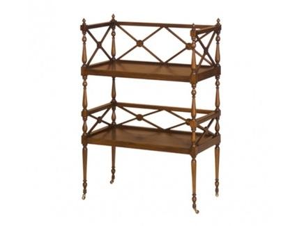 Этажерка (satin furniture) коричневый 64x94x35 см.