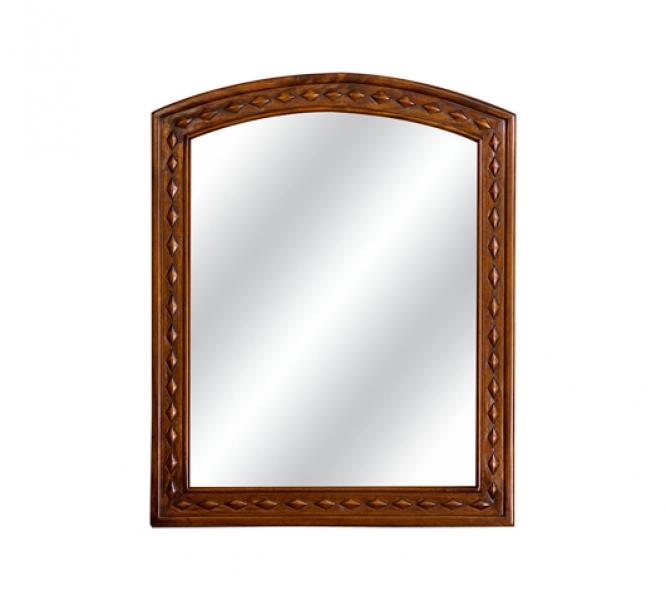 ЗеркалоНастенные зеркала<br>Это зеркало ? отличная деталь для особняка в английском стиле. Оно выглядит сдержанно и аккуратно, но одновременно излучает тепло. Последнее рождается в ювелирной обработке натуральной древесины. Фактура, которая была создана талантливыми мастерами вручную, несет в себе особую романтику. Через несколько поколений изящный декор сможет стать тем самым старинным зеркалом из загадочного поместья ? с таким строгим, но атмосферным аксессуаром вы не прогадаете.&amp;lt;div&amp;gt;&amp;lt;br&amp;gt;&amp;lt;/div&amp;gt;&amp;lt;div&amp;gt;Выполнено из массива красного дерева. Ручная работа.&amp;lt;/div&amp;gt;<br><br>Material: Красное дерево<br>Width см: 64<br>Depth см: 3<br>Height см: 78
