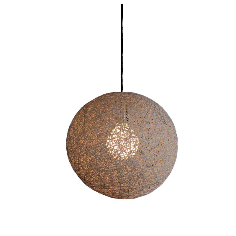 Дизайнерский подвесной светильник The RandomПодвесные светильники<br>Геометрия этого светильника, основанная на невесомости и рандомности линий, принесла известность своему создателю ? дизайнеру Бертьяну Поту. Разработанная в 1999 году, она мгновенно нашла отклик в сердцах творческих личностей, способных видеть красоту в самых разных вещах. Оригинальный сферический силуэт, внутри которого скрыто великолепие яркого источника света, выглядит завораживающе. Он манит своей таинственной нетривиальностью, отлично подходящей для современных и тематических интерьеров.&amp;lt;div&amp;gt;&amp;lt;br&amp;gt;&amp;lt;/div&amp;gt;&amp;lt;div&amp;gt;Один плафон из пеньки, металлическое основание&amp;lt;/div&amp;gt;&amp;lt;div&amp;gt;Высота подвеса max 200 см&amp;lt;/div&amp;gt;&amp;lt;div&amp;gt;Патрон E27, мощность max 1 х 100W&amp;lt;/div&amp;gt;&amp;lt;div&amp;gt;Возможно использование светодиодной лампы&amp;lt;/div&amp;gt;&amp;lt;div&amp;gt;Вес 2 кг&amp;lt;/div&amp;gt;<br><br>Material: Текстиль<br>Diameter см: 40