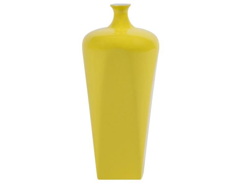 Ваза настольная Vase Ceramic light mustardВазы<br><br><br>Material: Керамика<br>Height см: 27<br>Diameter см: 12