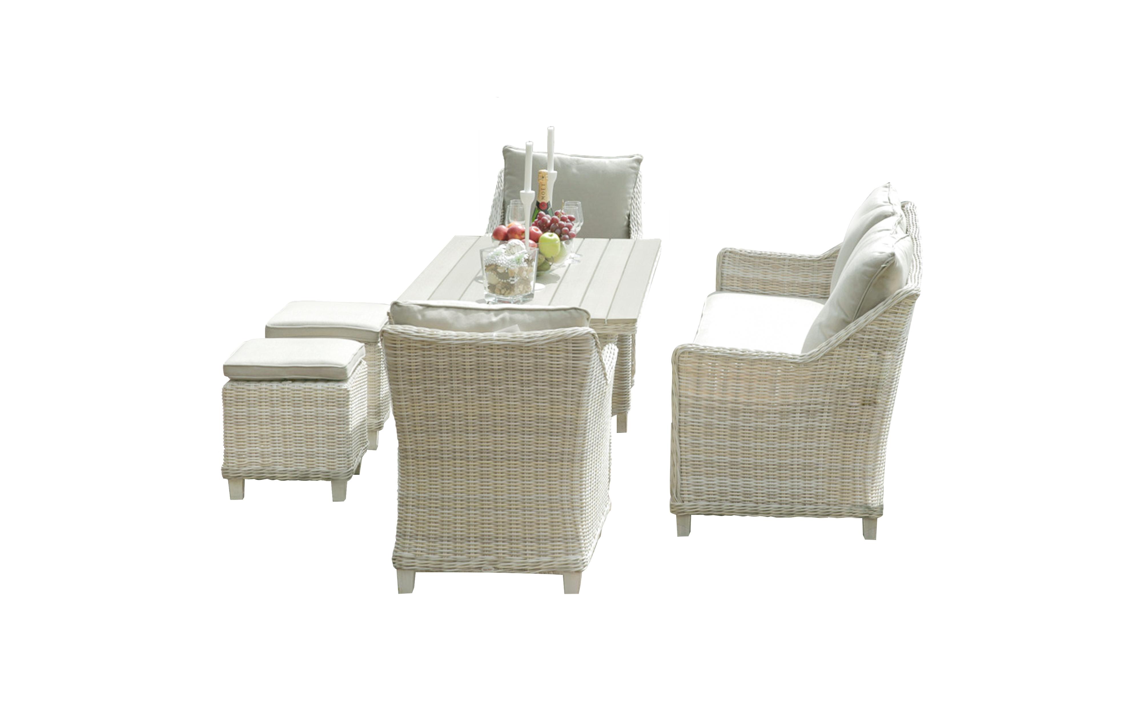 Комплект мебели из ротанга ФИДЖИКомплекты уличной мебели<br>&amp;lt;div&amp;gt;Комплект дачной мебели из ротанга ФИДЖИ на восемь персон. В комплекте: &amp;lt;b&amp;gt;стол, диван трехместный, два кресла и два пуфика, мебель комплектуются мягкими подушками&amp;lt;/b&amp;gt;. Каркасы в комплекте мебели укреплены алюминиевыми стойками, которые полностью обтянуты плетением из ротанга. Набор мебели из ротанга ФИДЖИ &amp;amp;nbsp;- это воплощение стиля, легкости и экологичности, отличительной особенностью которого являются устойчивость к влаге, солнечным лучам и перепадам температур!&amp;lt;/div&amp;gt;&amp;lt;div&amp;gt;Удобный комплект ФИДЖИ придаст ощущение стиля и уюта любому месту в саду, на веранде или в доме!&amp;lt;/div&amp;gt;&amp;lt;div&amp;gt;&amp;lt;b&amp;gt;Размеры мебели Фиджи&amp;lt;/b&amp;gt;&amp;lt;/div&amp;gt;&amp;lt;div&amp;gt;&amp;lt;b&amp;gt;Стол:&amp;lt;/b&amp;gt; 146,5*79,5*69,5 см&amp;amp;nbsp;&amp;lt;/div&amp;gt;&amp;lt;div&amp;gt;&amp;lt;b&amp;gt;Столешница:&amp;lt;/b&amp;gt; материал: поливуд (искусственное дерево)/ротанг&amp;lt;/div&amp;gt;&amp;lt;div&amp;gt;&amp;lt;b&amp;gt;Кресло:&amp;lt;/b&amp;gt; 67*76,5*84 см&amp;lt;/div&amp;gt;&amp;lt;div&amp;gt;&amp;lt;b&amp;gt;Диван: &amp;lt;/b&amp;gt;176*76.5*84 см &amp;amp;nbsp;&amp;lt;/div&amp;gt;&amp;lt;div&amp;gt;&amp;lt;b&amp;gt;Пуфик:&amp;lt;/b&amp;gt; 42*42*42 см&amp;lt;/div&amp;gt;<br><br>Material: Ротанг<br>Length см: 146,5<br>Width см: 79,5<br>Height см: 69,5