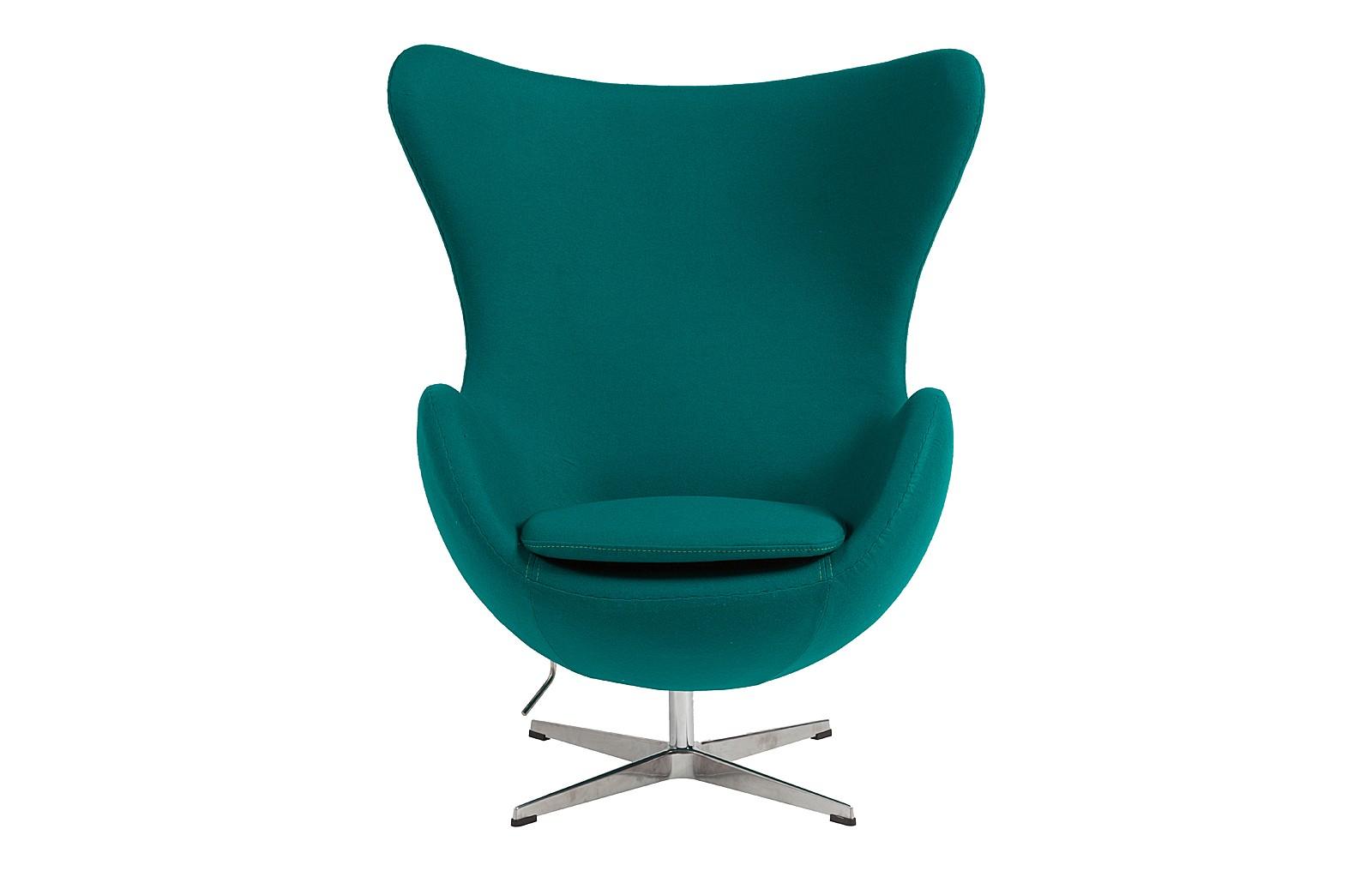 Кресло Egg ChairКресла с высокой спинкой<br>Кресло &amp;amp;nbsp;&amp;quot;Egg Chair&amp;quot; — интерьерная классика датского архитектора Арне Якобсена. Эта икона стиля претендует на роль не только стильного предмета, сколько на место друга в обстановке. Его капсульная форма и плавные линии способствуют уединению и самозабвению: в нем как в объятьях любимого человека &amp;amp;nbsp;хочется остаться как можно дольше.<br><br>Material: Кашемир<br>Width см: 76<br>Depth см: 82<br>Height см: 105