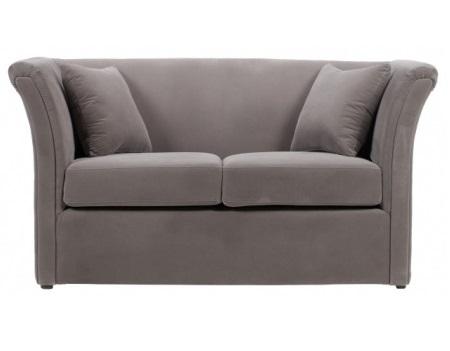 Диван HollisДвухместные диваны<br>Этот двухместный диван придумали конструкторы дизайн-бюро O&amp;amp;amp;M Design, известном любовью к традициям датской дизайнерской школы и японской классической философии. Компактная мебель нейтральной серой расцветки – оптимальный выбор для домашнего кабинета или гостиной. Диван мягкий и удобный, а обивка из велюра приятна на ощупь. Вместе с тем, скучным его точно не назовешь – высокие подлокотники чуть изогнуты, создают очень тонкий силуэт.<br><br>Material: Текстиль<br>Width см: 160<br>Depth см: 80<br>Height см: 85