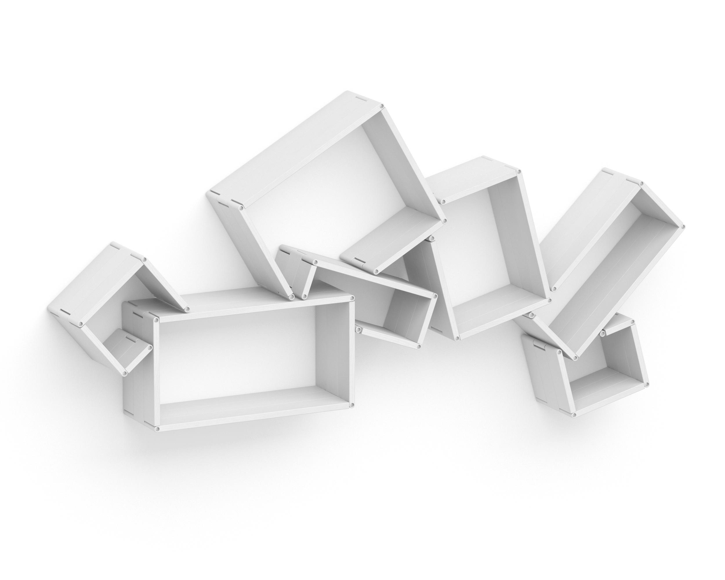 Полка-конструктор LATITUDE Flex Shelf set 171Полки<br>Творческий беспорядок теперь удастся создать не только на столе или на полу. С &amp;quot;Latitude Flex Shelf Set 171&amp;quot; его можно будет перенести в новую плоскость ? на стену! Не стоит переживать, что нагромождение хаотично расположенных полок добавит неаккуратность оформлению пространства. Декор, способный принимать самые разные очертания, привнесет в интерьер лишь нетривиальную смелость. С ним современные интерьеры буквально оживут и станут более интересными.<br><br>Material: Ясень<br>Width см: 193<br>Depth см: 22<br>Height см: 95