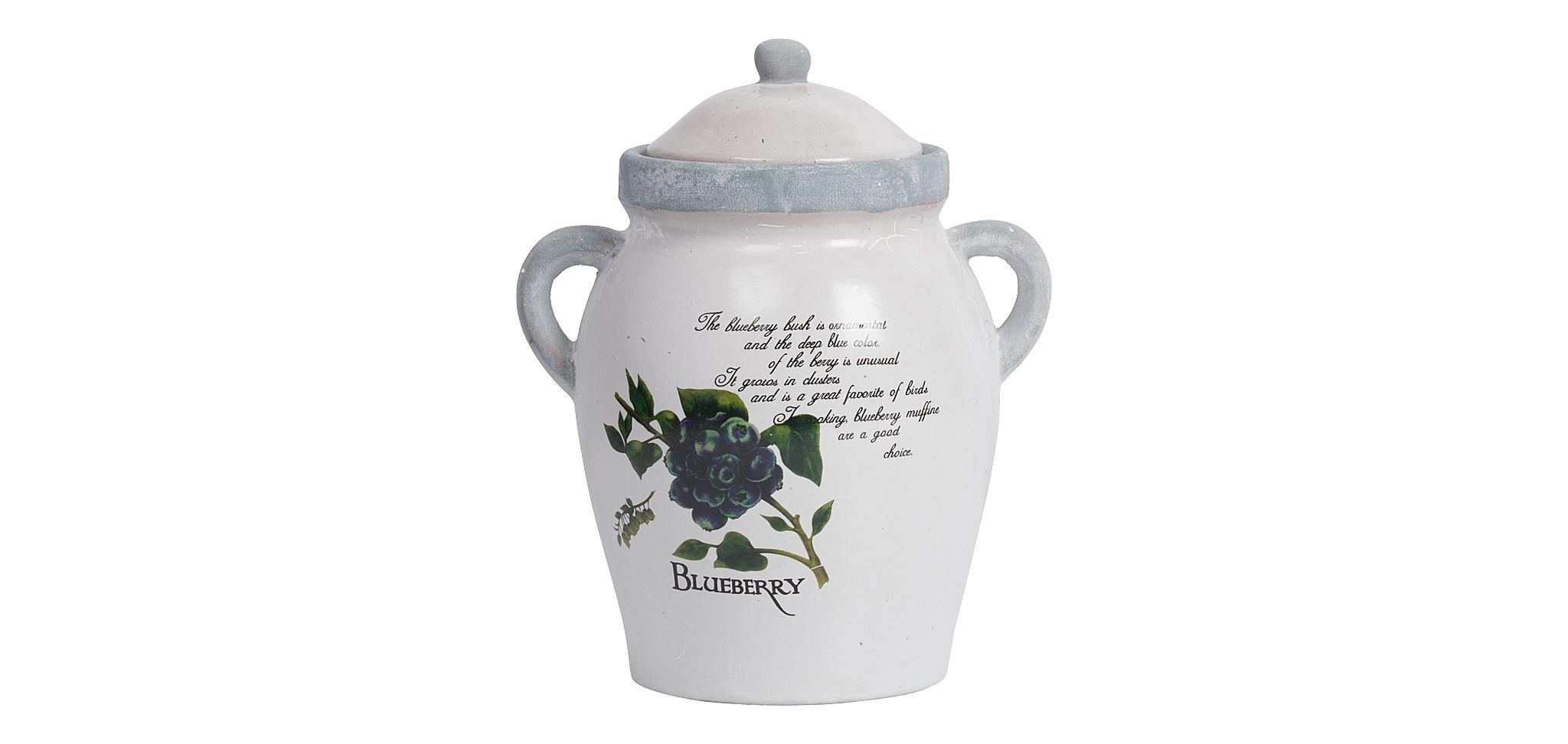 Декоративная ваза VitauВазы<br>&amp;quot;Vitau&amp;quot; ? ваза, которая прекрасно впишется в прованские интерьеры. Романтичное оформление, основанное на сдержанности и изяществе, позволит ей стать лучшим украшением такого пространства. В утонченном окружении изящные формы будут смотреться превосходно. Изображение ягод черники станет деталью, которая поможет декору лучше дополнить дизайн помещения, тяготеющего к природной красоте. Нежная палитра из белоснежного и голубого цветов еще больше усилит связь с естественным очарованием, вызывая ассоциации с небом и облаками.<br><br>Material: Керамика<br>Length см: 19.5<br>Width см: 15<br>Height см: 23.5