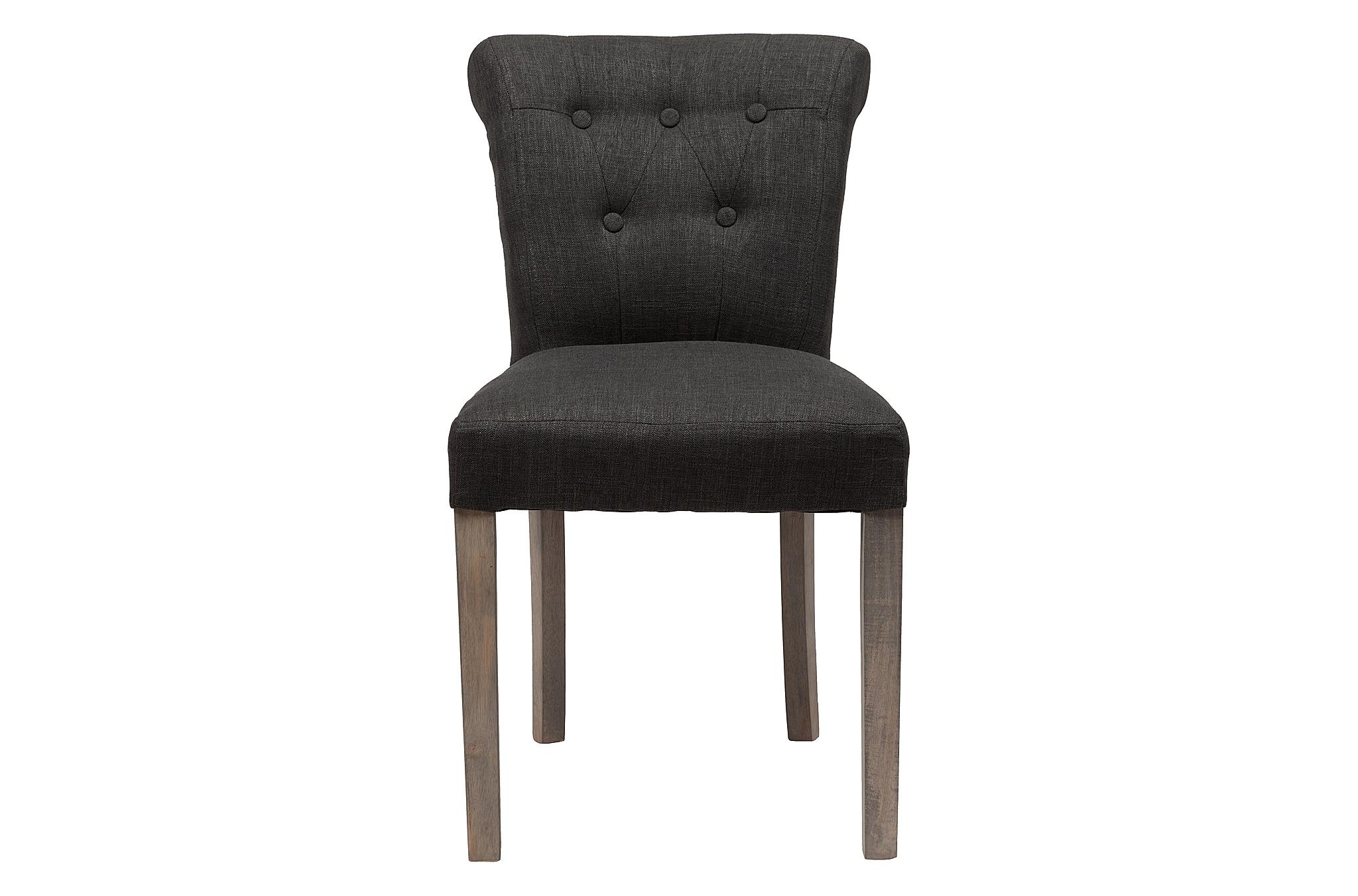 Стул BensonОбеденные стулья<br>Роскошь классического французского стиля в оформлении стула &amp;quot;Benson&amp;quot; обретает абсолютно неожиданное воплощение. Разбавленная нарочитой простотой прованса, она становится сдержанной и романтичной. Лишь кокетливо отогнутая назад спинка, несколько мебельных пуговиц и стройные ножки напоминают о величии дизайна-вдохновителя. В льняной отделке эти детали выглядят более сдержанными и начисто лишаются помпезности.<br><br>Material: Лен<br>Ширина см: 62<br>Высота см: 83