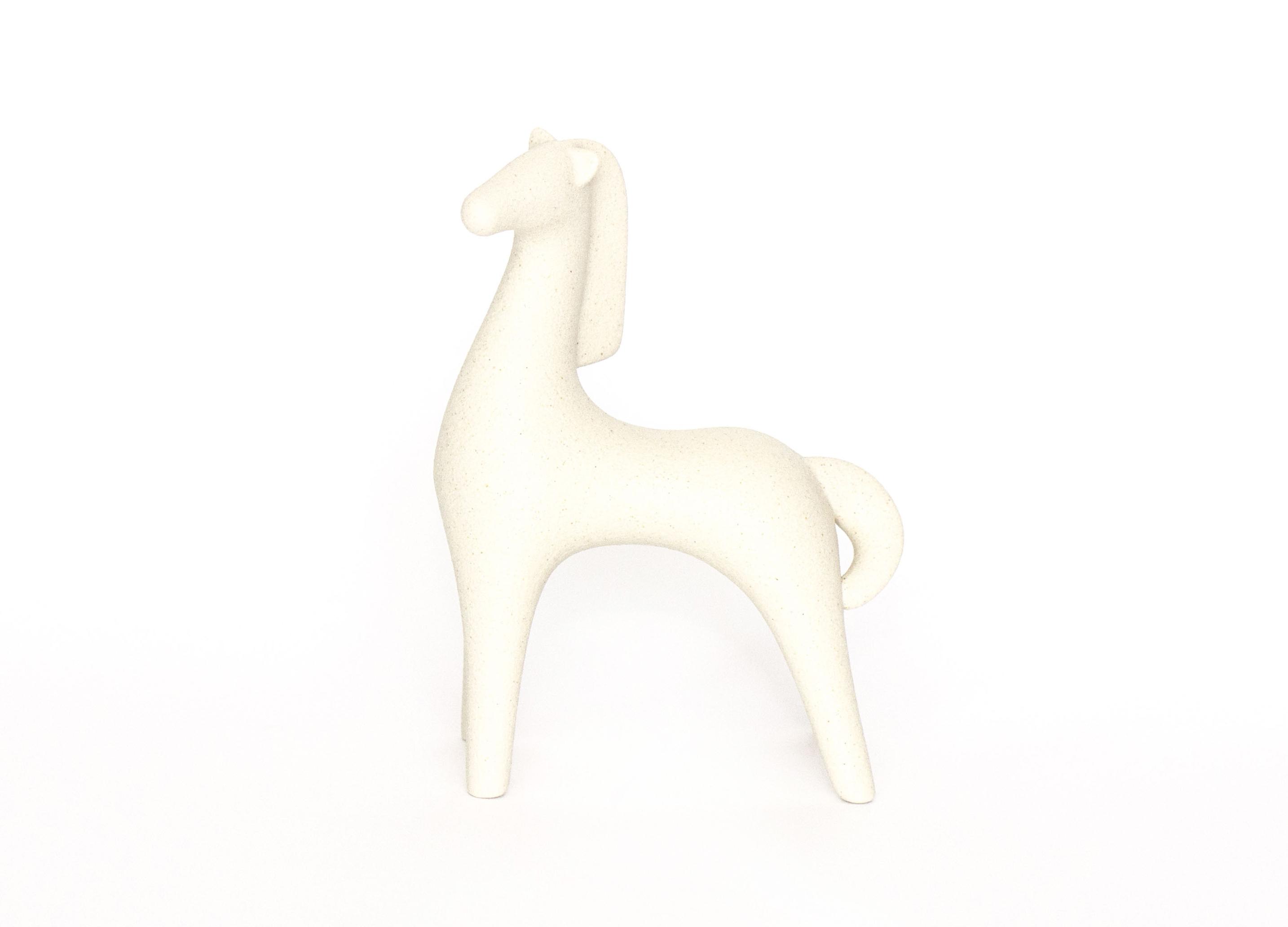 Фигура ЛошадьСтатуэтки<br><br><br>Material: Керамика<br>Length см: 12<br>Width см: 7<br>Height см: 17