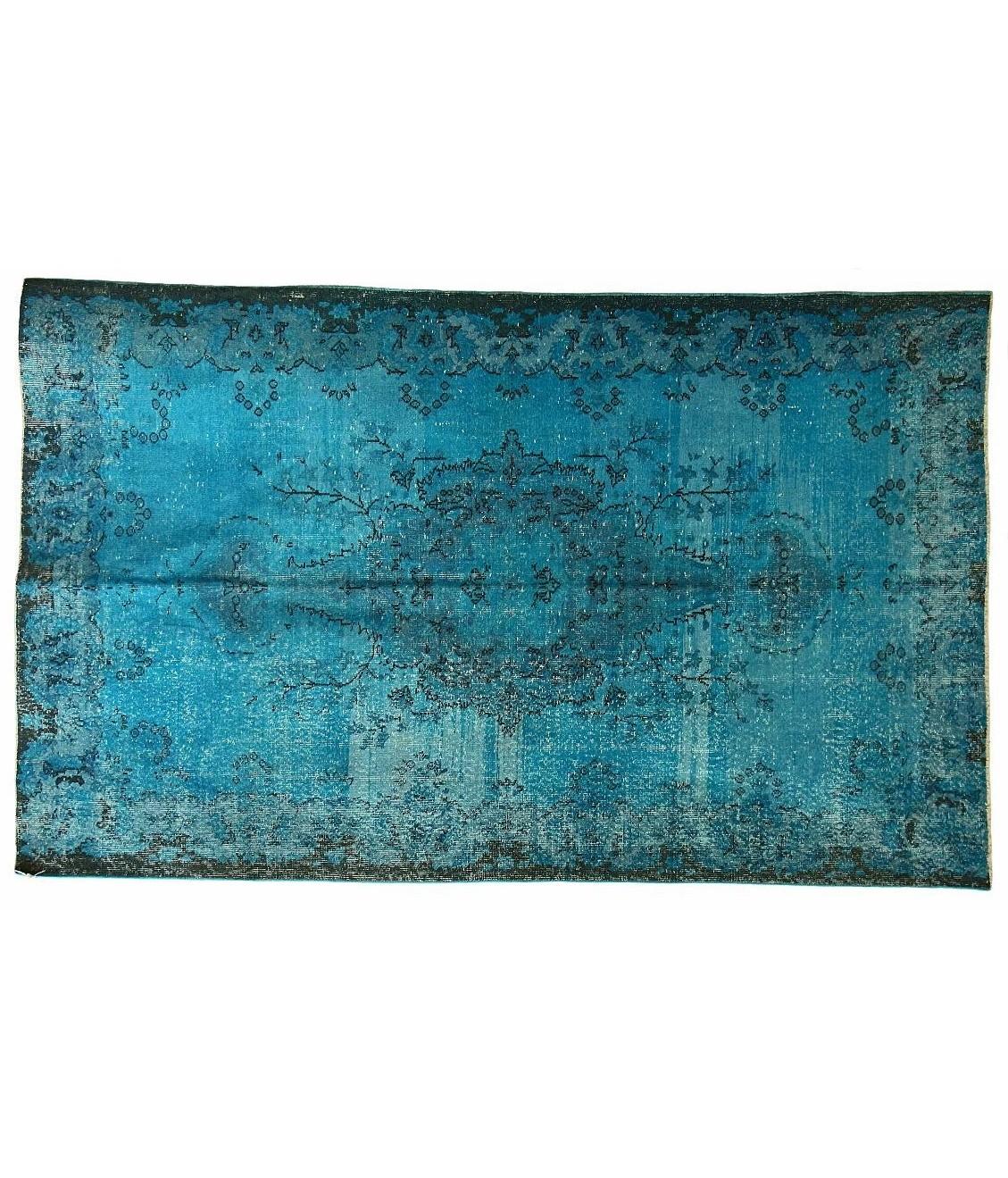 Carpet Story Ковер OVERDYED яркий аквамарин