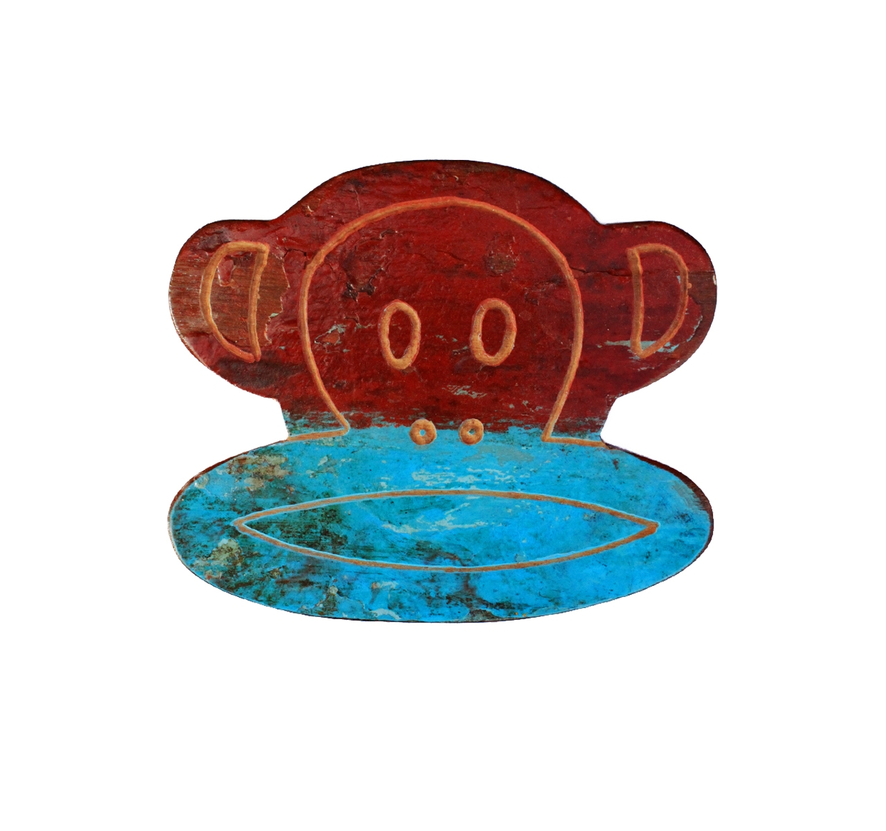 Огненная обезьянаДругое<br>&amp;lt;div&amp;gt;Огненная обезьяна – символ наступающего &amp;amp;nbsp;2016 года. Эта обезьянка родом из солнечной Индонезии, где она была частью старого рыболовецкого судна. Мастера Like Lodka разбирают их, а из фрагментов делают оригинальные предметы декора. При этом изначальные расцветки лодок сохраняются, поэтому, скорее всего, по центру обезьяньей мордочки проходит не что иное, как ватерлиния.&amp;lt;br&amp;gt;&amp;lt;/div&amp;gt;&amp;lt;div&amp;gt;&amp;lt;br&amp;gt;&amp;lt;/div&amp;gt;Обезьяна выполненная из фрагмента настоящего рыболовецкого судна, возраст которого 20-50 лет.<br><br>Material: Тик<br>Length см: 20<br>Depth см: 3<br>Height см: 17