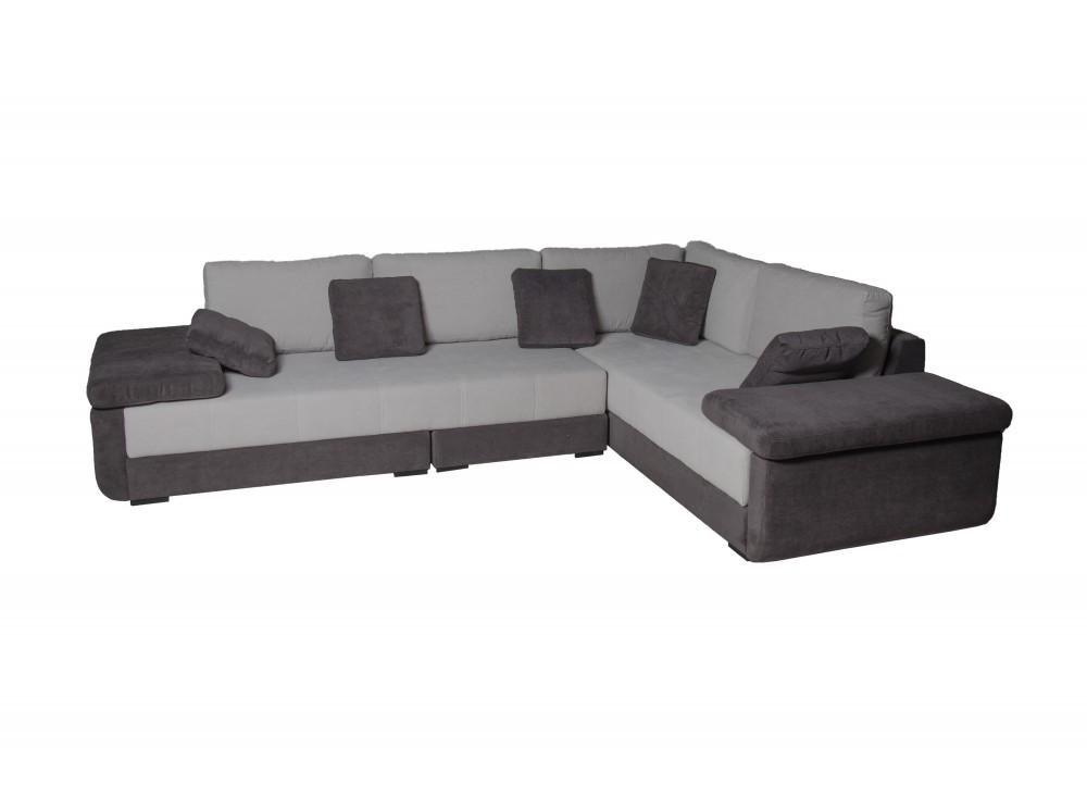 """Угловой диван-кровать Tango MobileУгловые диваны<br>Это модель, которая представляет ответ нуждам современной урбанистической семьи, которая в ограниченном помещении сможет разместить единицу мебели. Практичность и изысканный дизайн – главные характеристики """"Tango mobile"""". Функциональность дивана очень высока: в любой момент вы можете превратить его в одну просторную кровать или две меньших размеров благодаря удобному и надежному механизму трансформации. Сидения с проволочной сердцевиной, которое обложено поролоном высокой эластичности. Наслоны из высокоэластичного поролона, обложенного силиконовой массой. В местах сидений встроен ящик для постельного белья. Обивка из высококачественной ткани.<br><br>Material: Текстиль<br>Length см: 310<br>Width см: 230<br>Depth см: None<br>Height см: 82"""