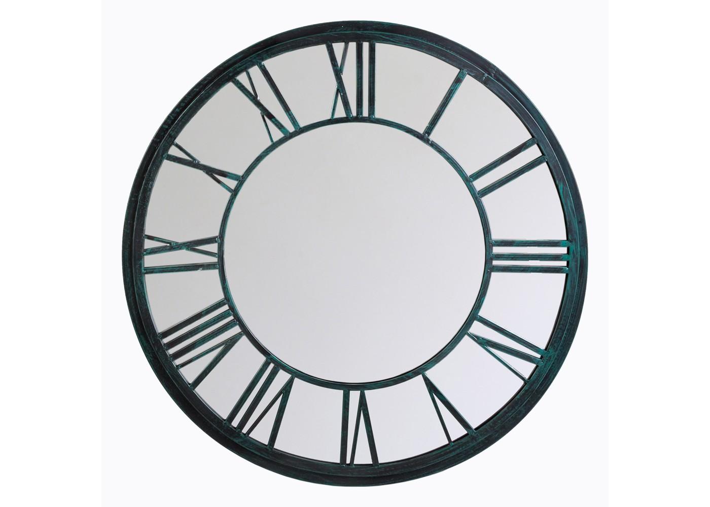 Настенное зеркало «Орсе» (черный антик)Настенные зеркала<br>&amp;quot;Орсе&amp;quot; ? винтажное дежа-вю сентиментального путешественника, неравнодушного к чудесам света. Это зеркало, прототипом которого выступили часы знаменитого парижского музея, хранит в себе очарование их уникальной архитектуры. Вглядываясь в его бесконечно элегантные округлые пропорции, украшенные традиционным черным циферблатом, вы сможете отправиться в очередной вояж. На этот раз он будет проходить по просторам вашей фантазии.&amp;lt;div&amp;gt;&amp;lt;br&amp;gt;&amp;lt;/div&amp;gt;&amp;lt;div&amp;gt;Размер: ? 92 см, ширина 2 см.&amp;lt;/div&amp;gt;<br><br>Material: Металл<br>Depth см: 2<br>Diameter см: 92