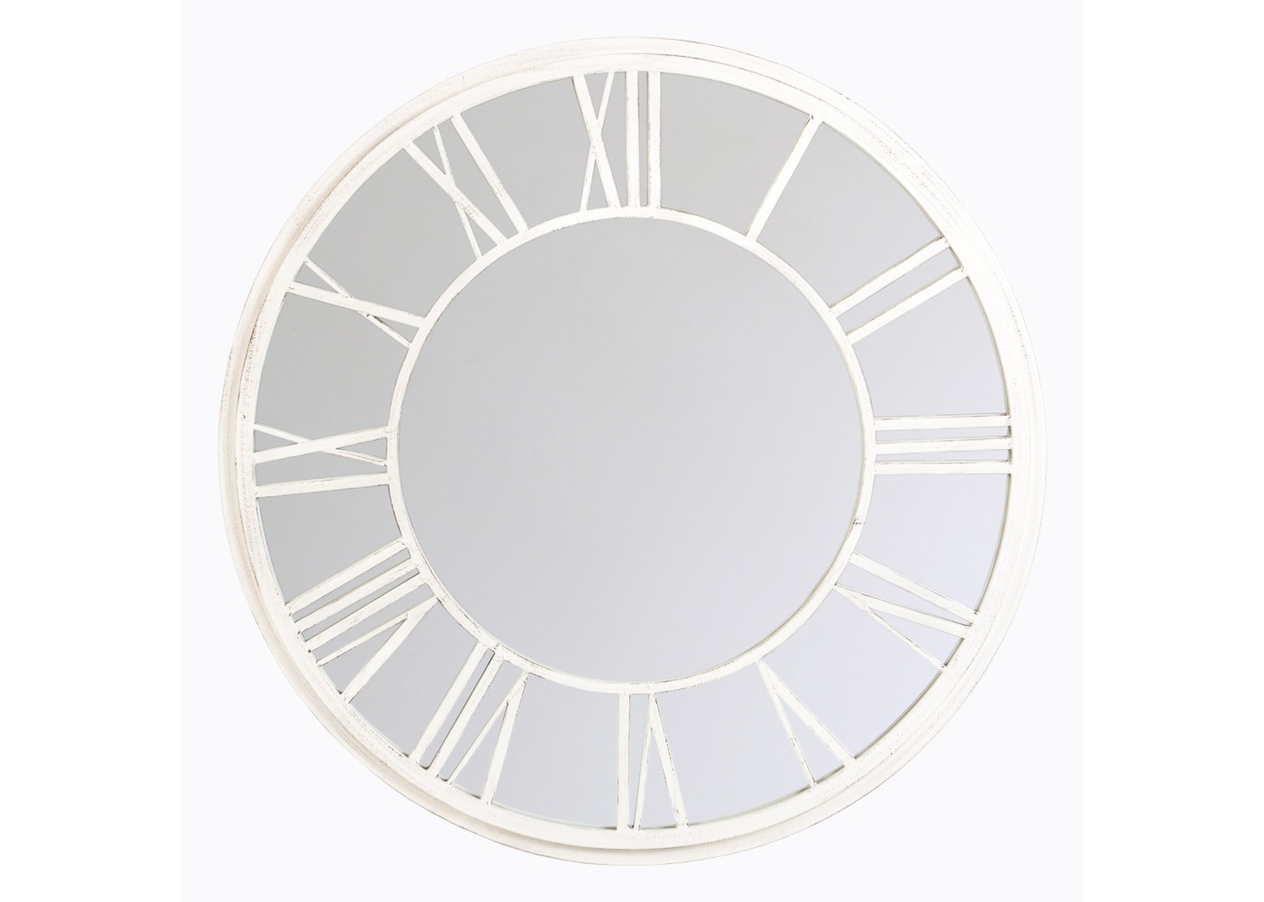 Object Desire Настенное зеркало «Орсе» (белый антик)