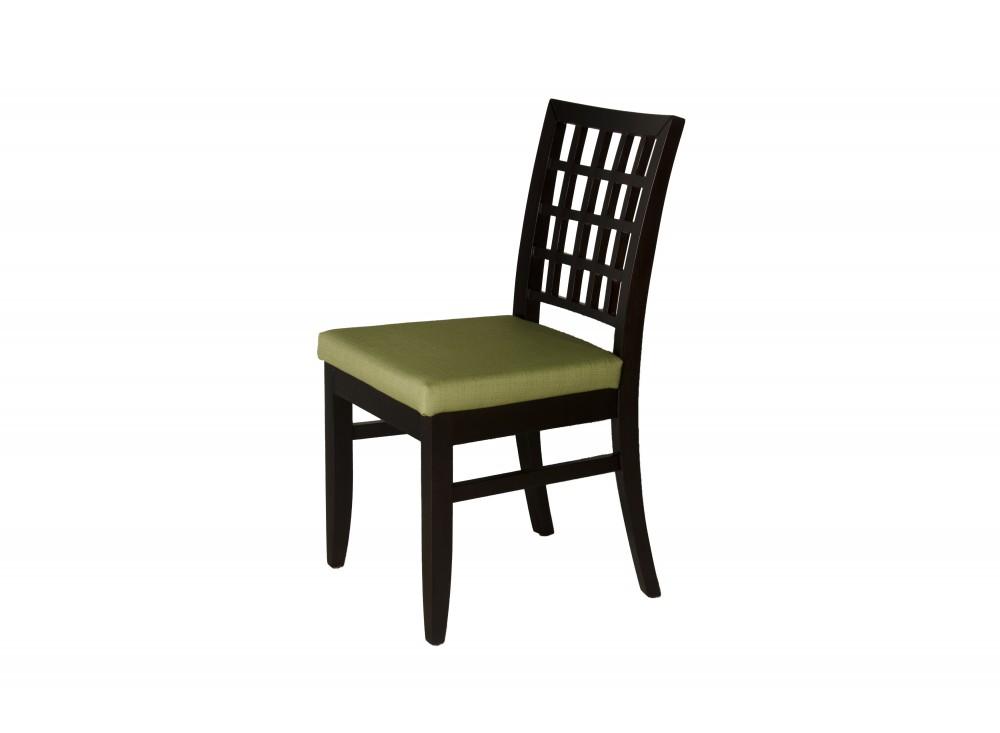 Стул MilanoОбеденные стулья<br>Элегантные стулья в гостиную из коллекции Milano – ценное приобретение для уютного интерьера, это надежная чинная классика, талантливо подкорректированная современной модой. Прочные изделия имеют легкий и изящный вид<br><br>Material: Текстиль