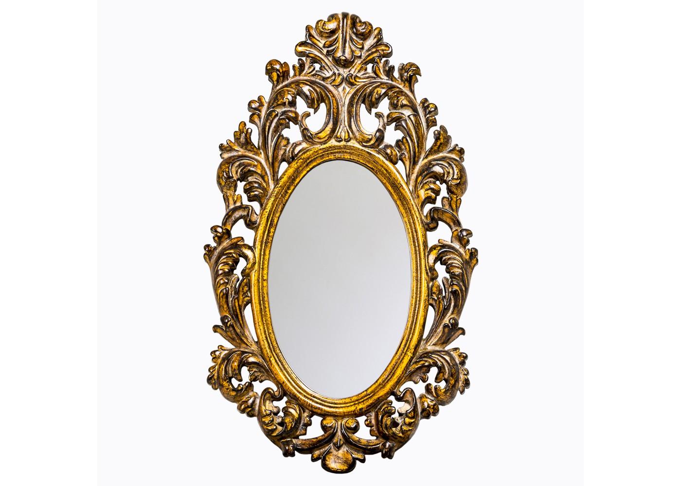 Настенное зеркало «Камилла»Настенные зеркала<br>Овальная форма зеркала &amp;quot;Камилла&amp;quot; ? его главная изюминка, которая делает декор дружественным для пространств любой архитектуры. В его собственной симметрии, не диктующей центрального расположения, оживает гармония французского барокко. Пышный растительный орнамент, в блеске золота обретающий больше эффектности, превращает это зеркало в настоящее произведение дизайнерского искусства. Вот почему любая примерка перед ним напоминает торжество версальского бала!&amp;lt;div&amp;gt;&amp;lt;br&amp;gt;&amp;lt;/div&amp;gt;&amp;lt;div&amp;gt;Размер изделия: 40?70?4,5 см.&amp;lt;/div&amp;gt;&amp;lt;div&amp;gt;Вес: 1,8 кг.&amp;lt;/div&amp;gt;<br><br>Material: Полиуретан<br>Width см: 40<br>Depth см: 4,5<br>Height см: 70