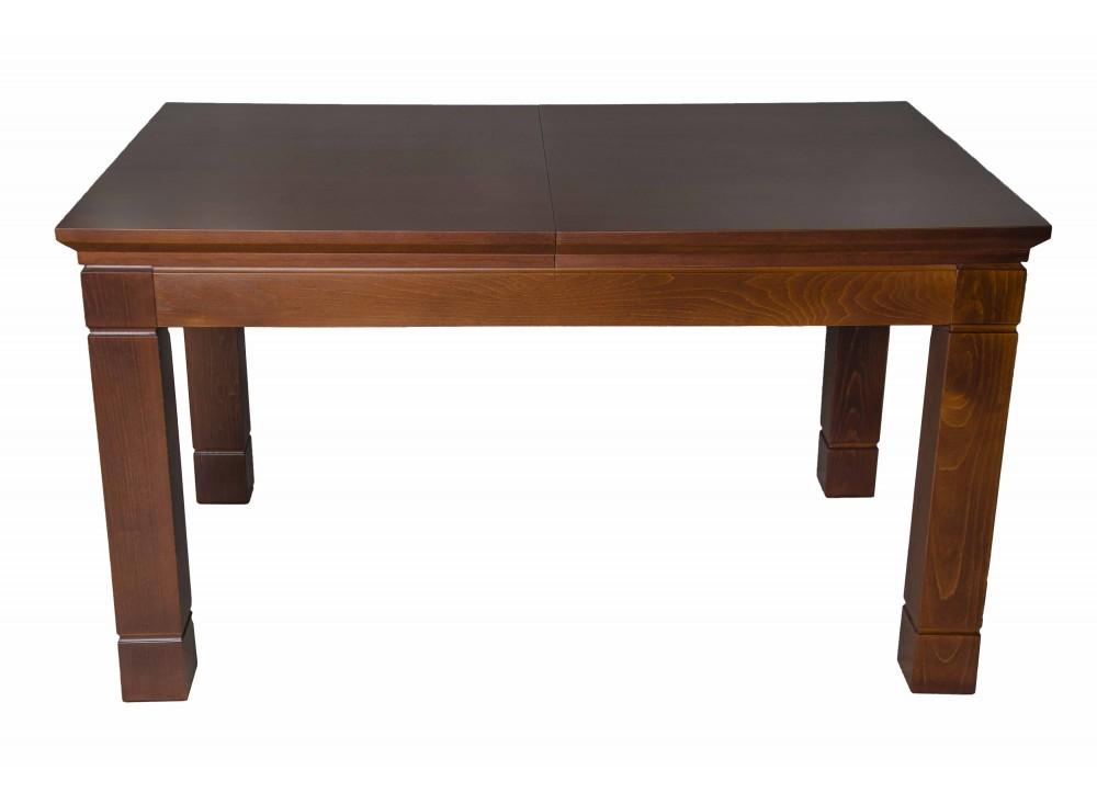 Стол раздвижной GrandОбеденные столы<br>Интерьер классической гостиной или столовой невозможно представить без добротного деревянного стола. Модель Grand универсальный вариант, поскольку он гармонично смотрится в помещениях любых размеров и цветовой отделки, в данном изделии удобная раздвижная конструкция, которая позволяет легко изменить длину стола до 180 см.<br><br>Material: Дерево<br>Length см: 140<br>Width см: 90<br>Height см: 75