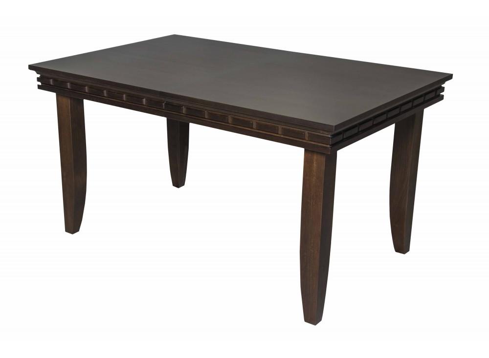 Стол KairoОбеденные столы<br>Стол Kairo – приятный по внешности, станет отличной покупкой в каждый дом. Ужинать за красивым деревянным столом с надежными ножками и массивной столешницей намного приятнее, чем использовать стандартную мебель<br><br>Material: Дерево<br>Length см: 140<br>Width см: 90<br>Height см: 75