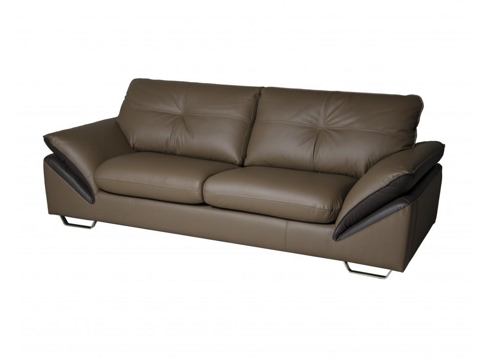Прямой диван-кровать PrestigeКожаные диваны<br>Tрехместный диван Prestige – соединение вневременного дизайна и удобства. Подлокотники, сиденья также как и спинка модели немного наклонены назад с целью увеличения комфорта. Это идеальный способ почувствовать комфорт даже в скромном помещении своего дома. Данный трехместный диван своими размерами привлекает взгляд каждого покупателя и увеличивает искушение попробовать его удобность.<br><br>Material: Кожа<br>Length см: 227<br>Width см: 102<br>Height см: 91